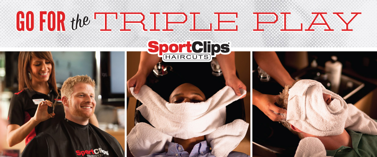 The Sport Clips Haircuts of Royal Palm Beach Triple Play